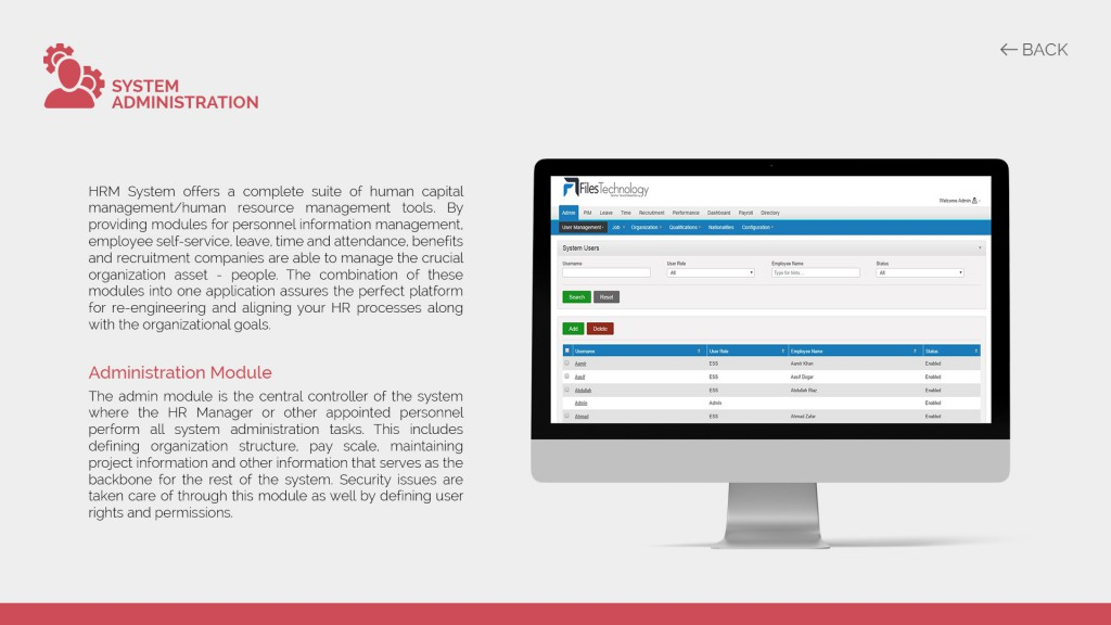 Bio-metric attendance | HRM | Payroll Software - Files